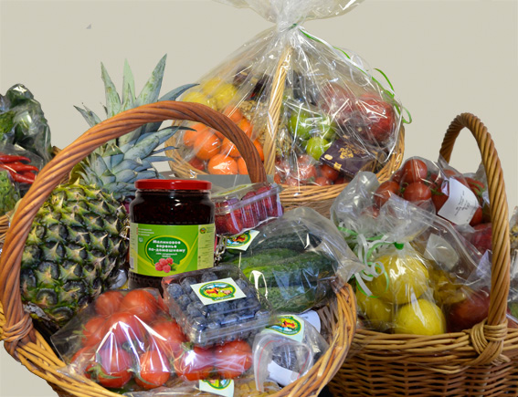 Сборная продуктовая корзина VIP «Праздничная»