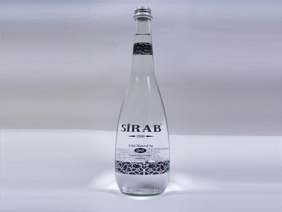 СИРАБ минеральная вода газированная 0,75л