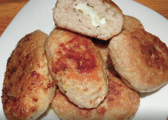 Зразы с сыром из куры