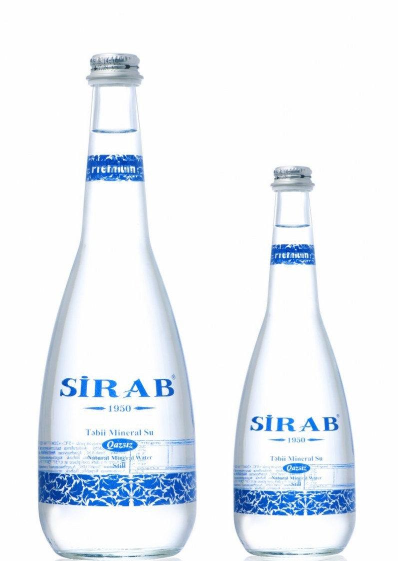"""Минеральная вода """"СИРАБ"""" негазированная 0,75 л"""