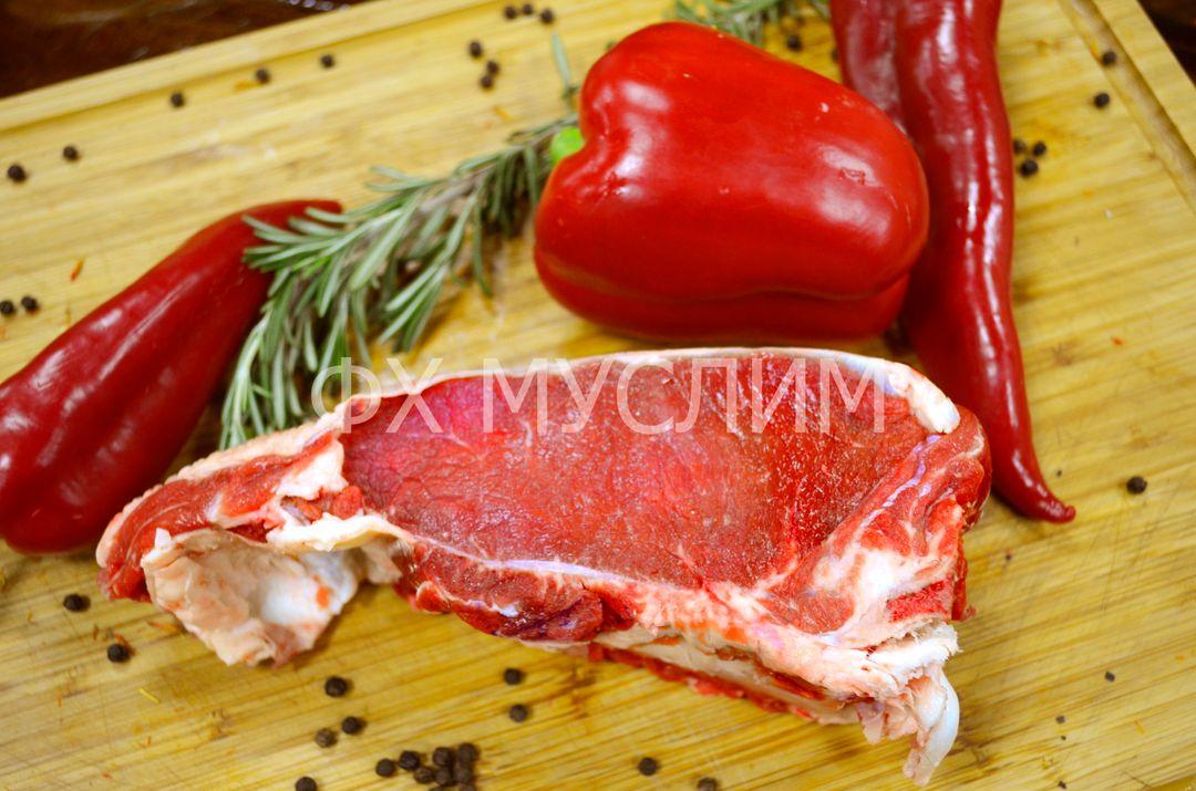 Тонкий филей на кости говядина