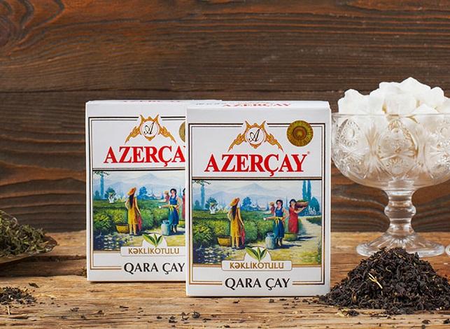Азерчай черный с чабрецом 100 гр.