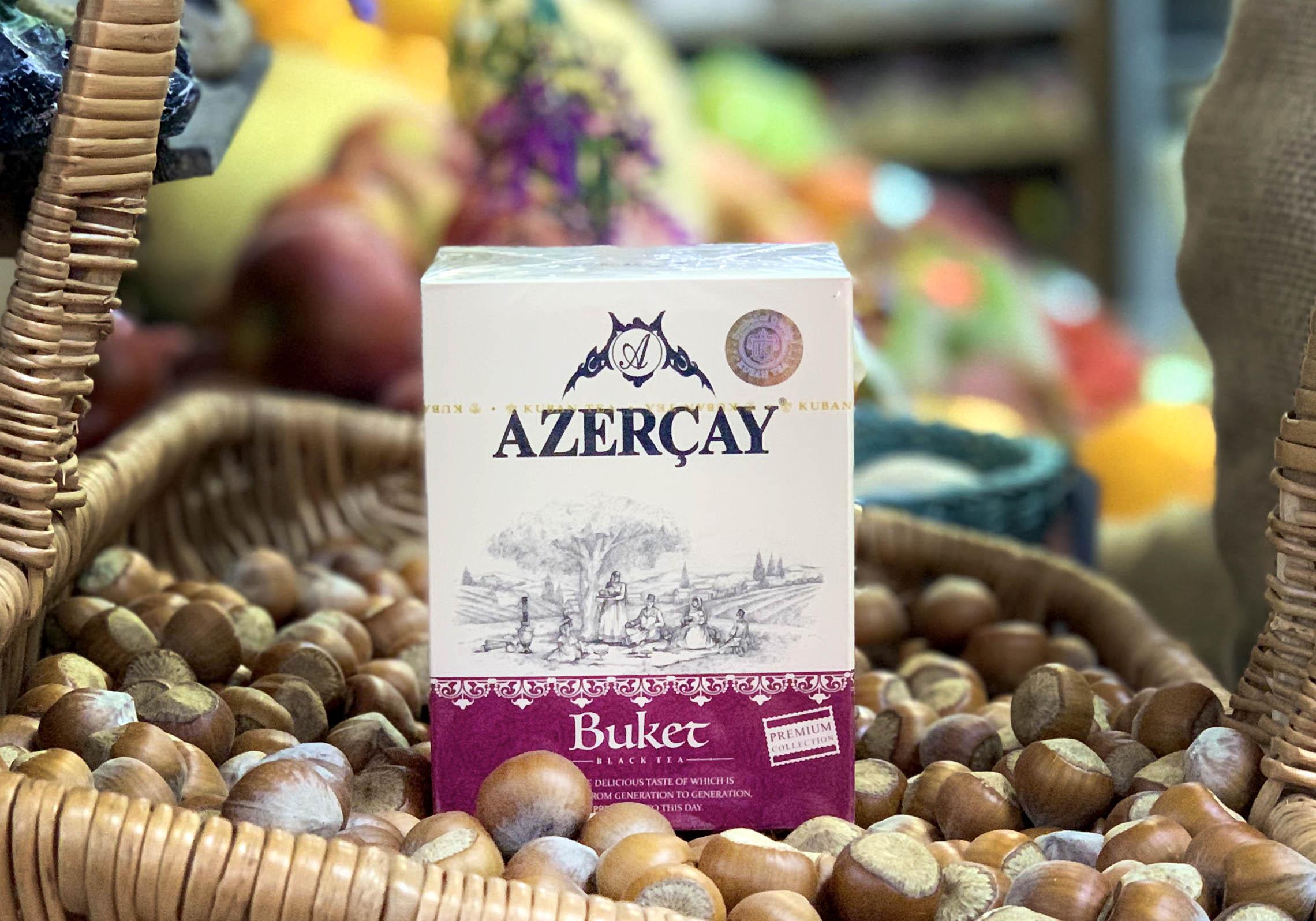 Азерчай Premium коллекция Букет листовой, 100 гр.