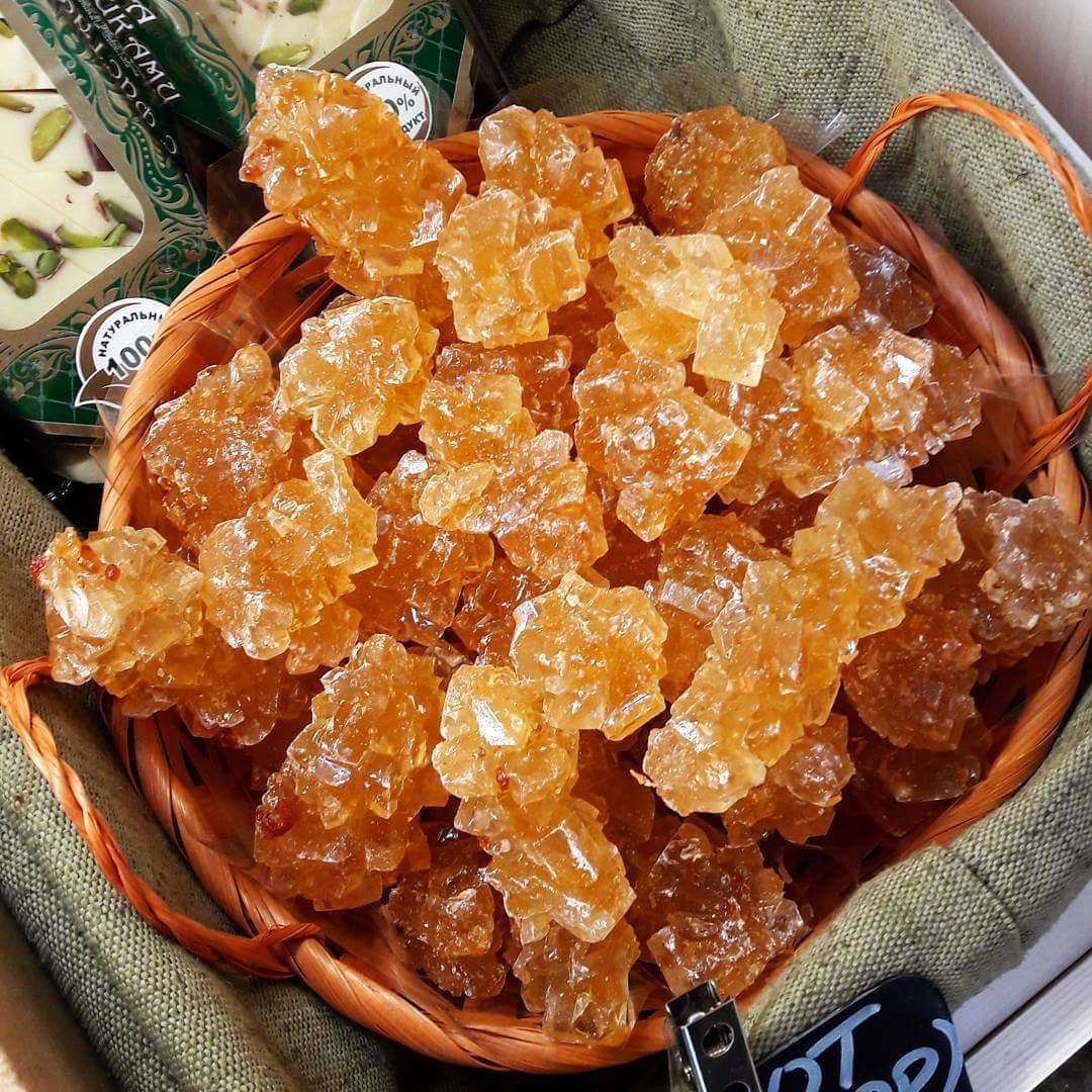 Навват (кристаллический сахар), Узбекистан