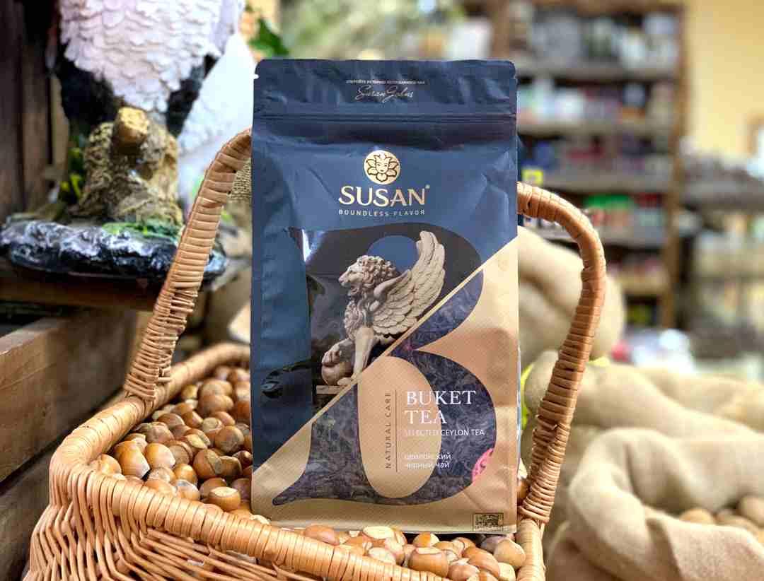 Чай Сусан (Susan) черный крупнолистовой 900 гр.