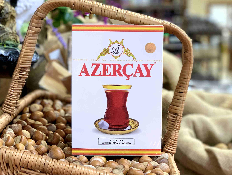 Азерчай с бергамотом черный, 400 гр.