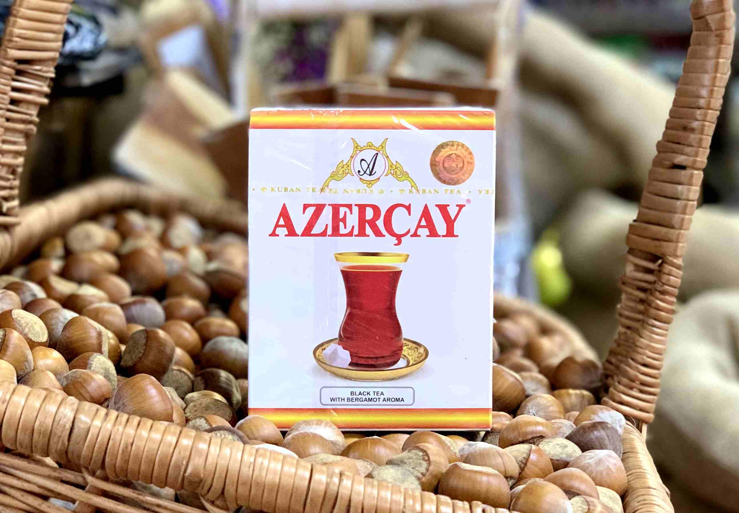 Азерчай с бергамотом черный, 100 гр.