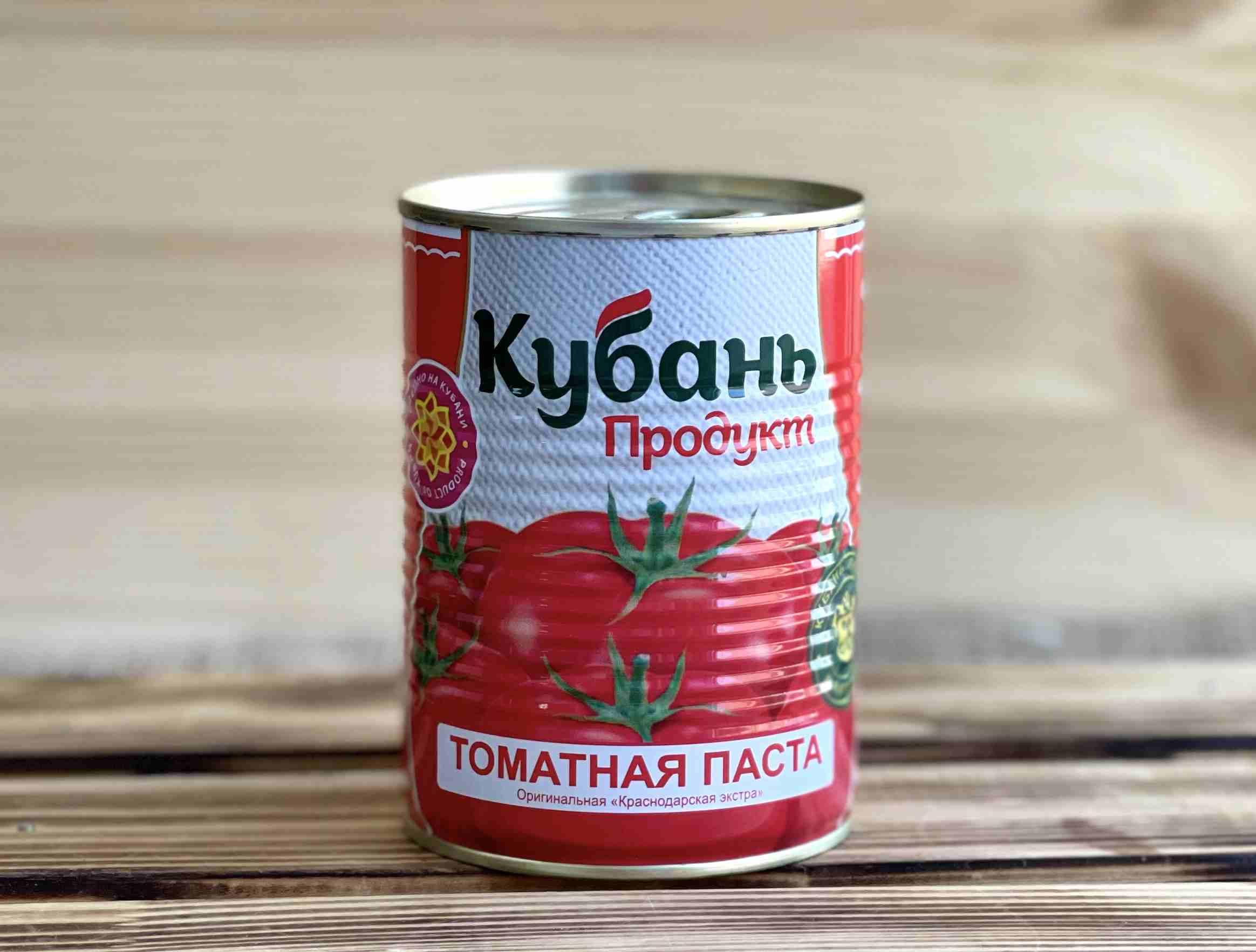 Паста томатная Кубань 380 гр.