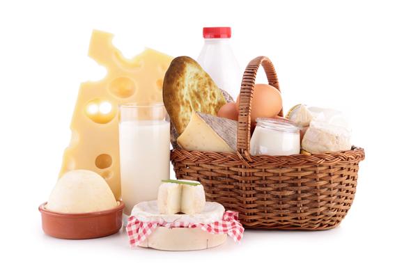 Набор молочных продуктов «Доброе утро»