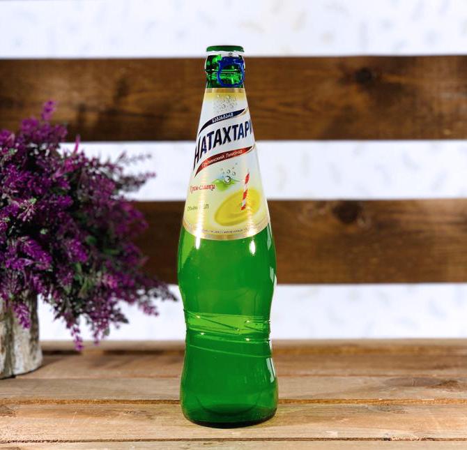 Лимонад крем-сливки Натахтари, 500 мл.