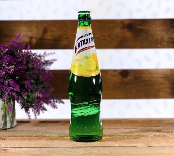 Лимонад Натахтари Лимон 0,5 л