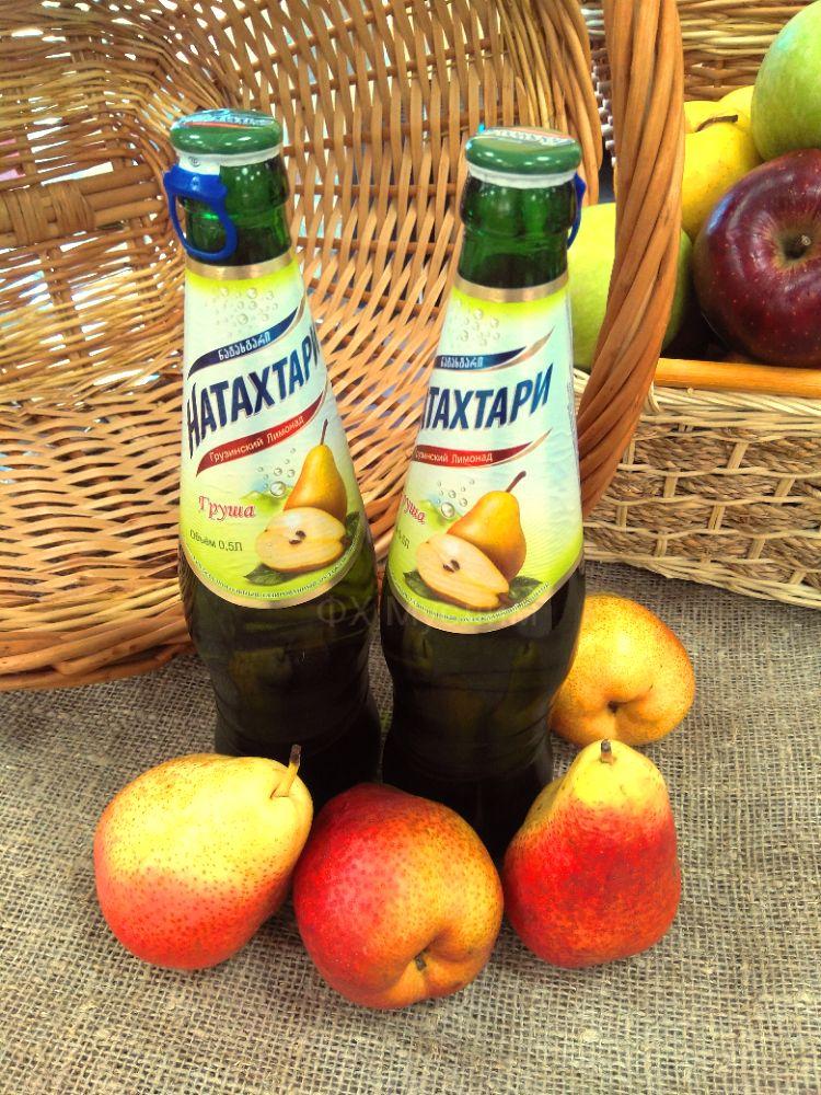 Лимонад Натахтари груша 0.5л