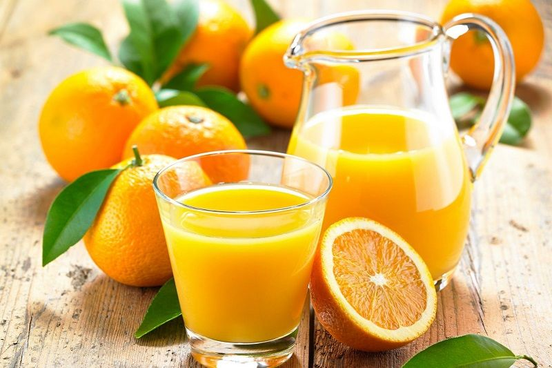 Сок свежевыжатый апельсиновый (фреш)