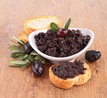 Паста из темных оливок классическая 175 гр. Мarmarabirlik, Турция