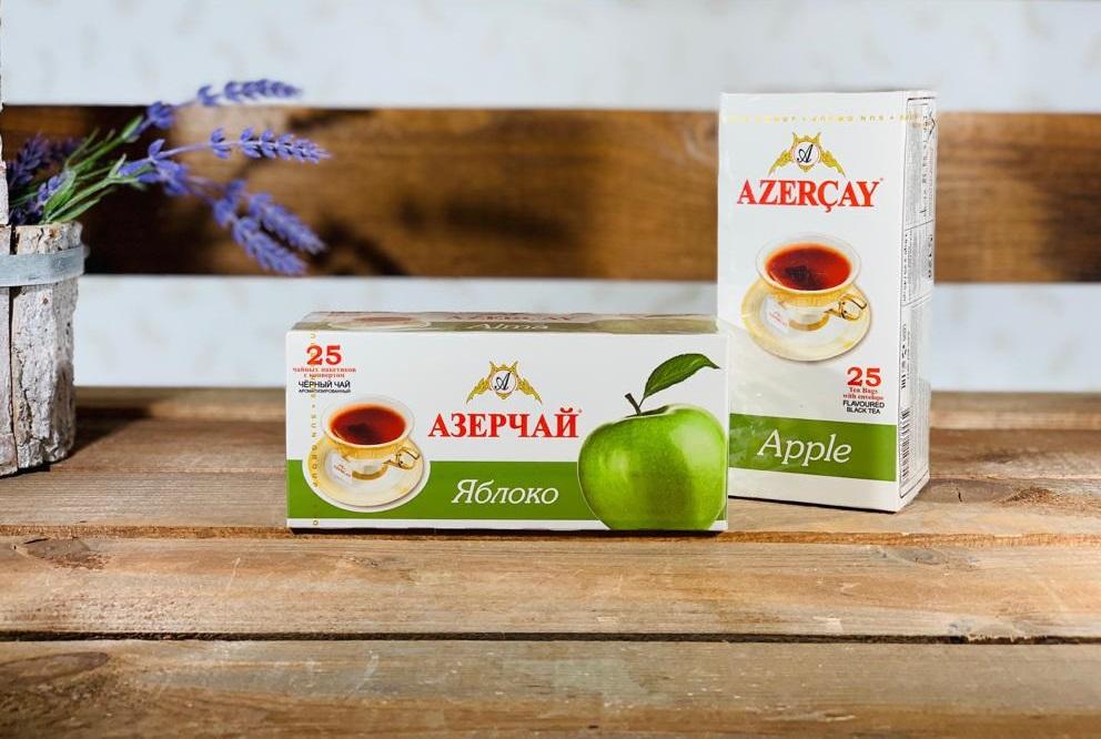 Азерчай Яблоко 25 пакетов