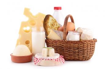 Молочная корзина «Доброе утро»